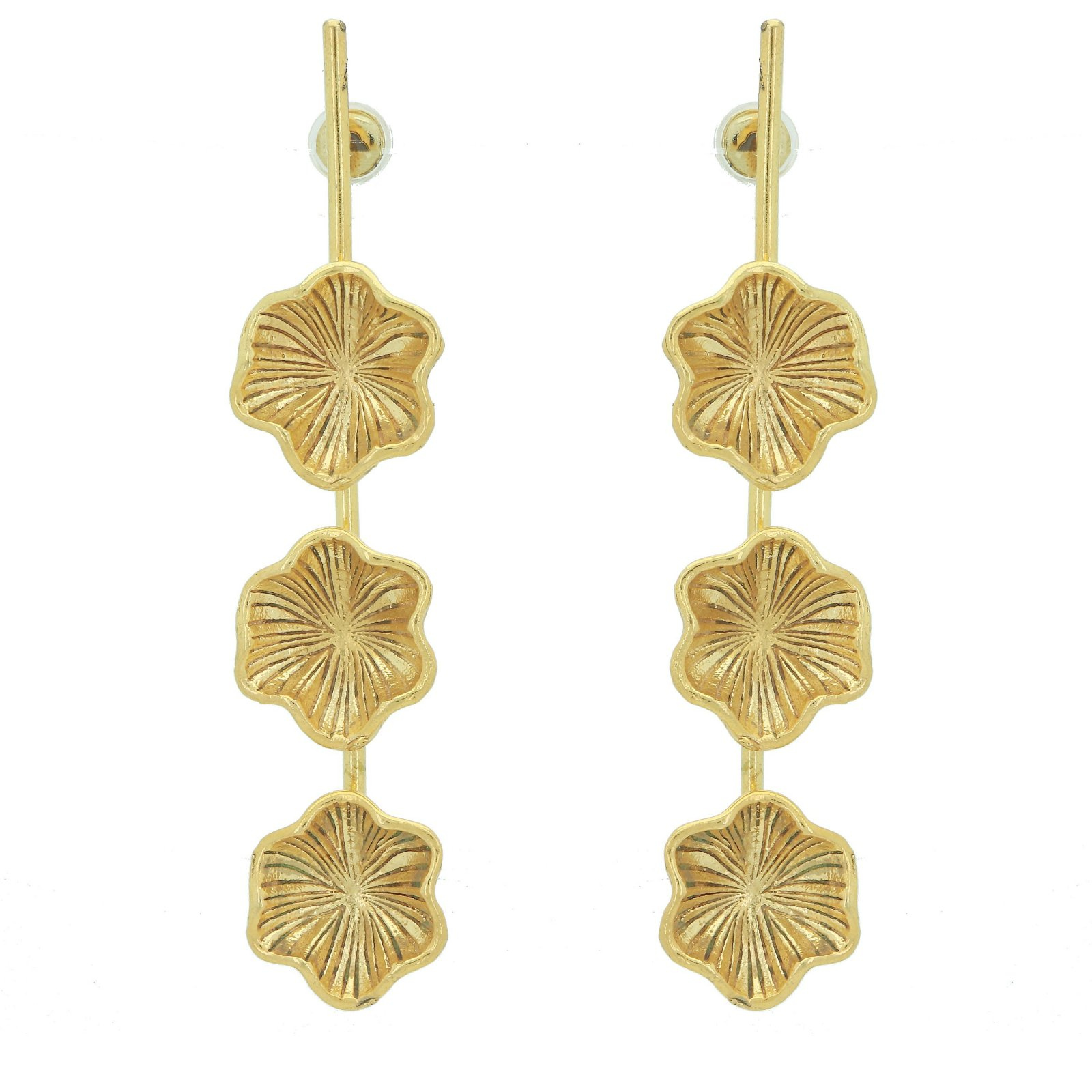 Gold Plated Dangle Earring