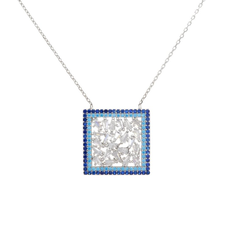 MN009- SQUARE NECKLACE