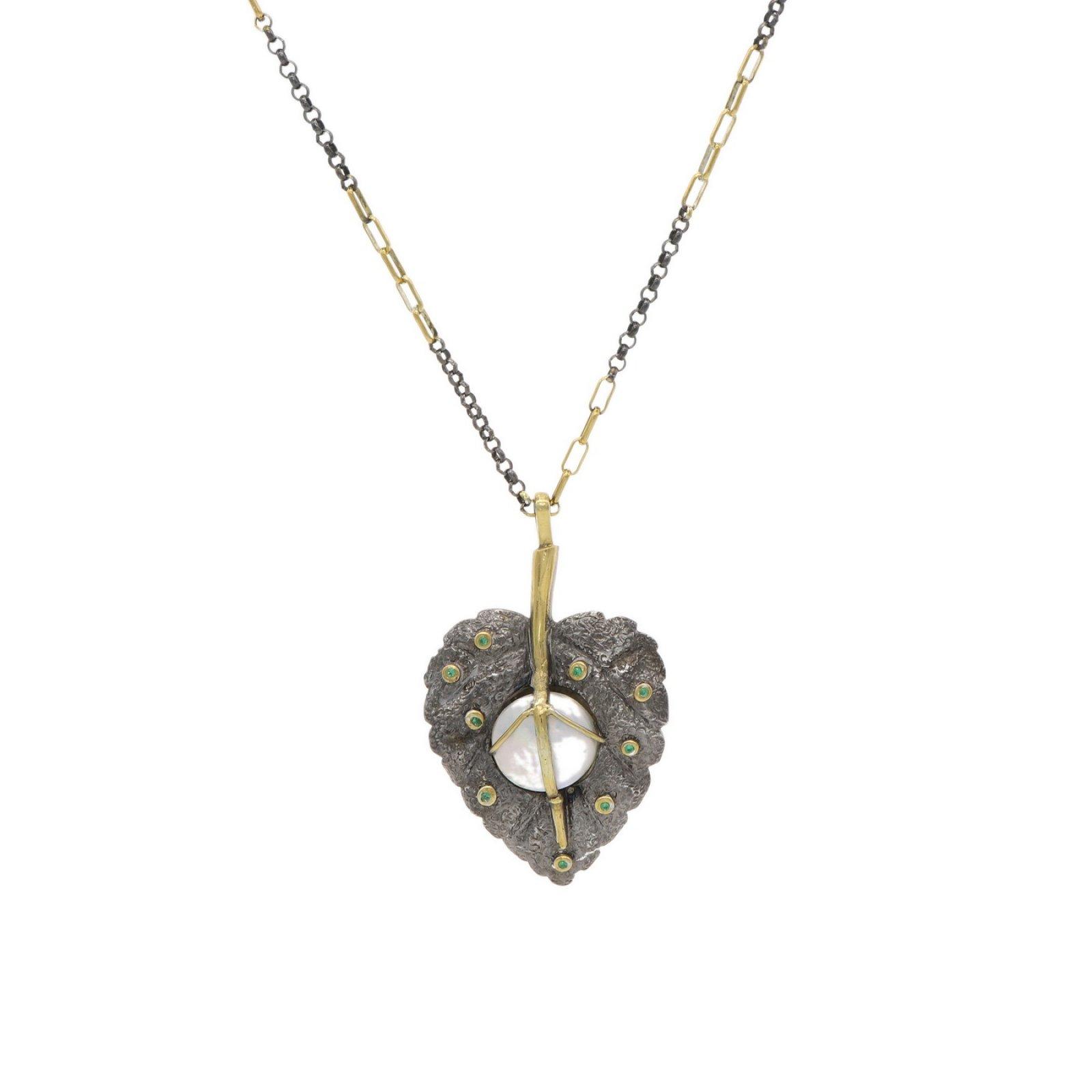 Leaf Design Handmade Necklace