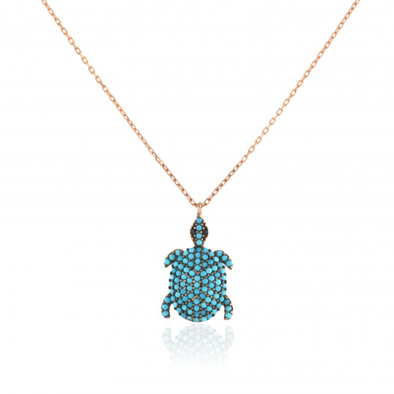 MN119 -TURTLE NECKLACE