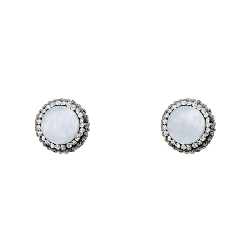 DRE131- MOTHER OF PEARL STUD EARRING