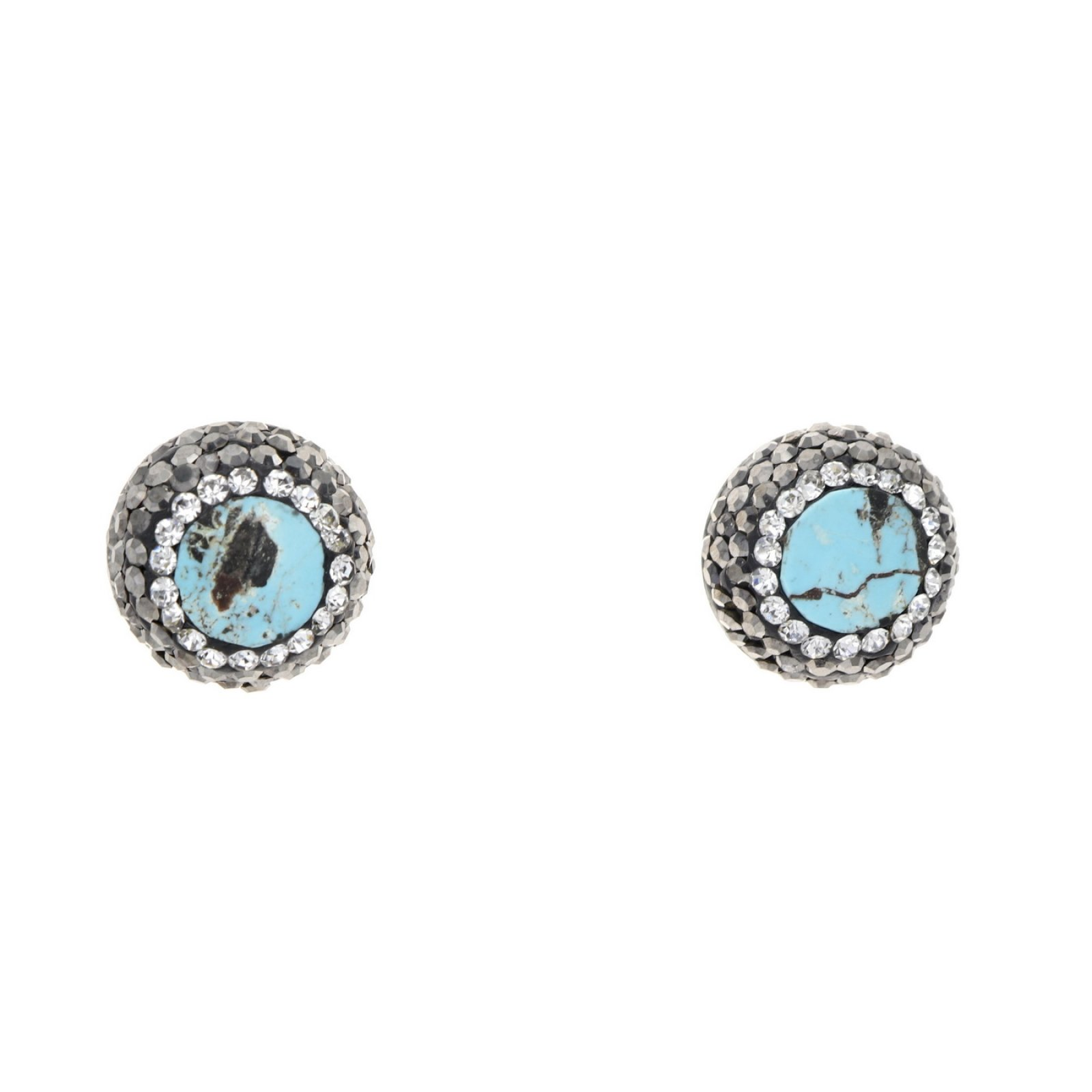 DRE138- TURQUOISE STUD EARRING