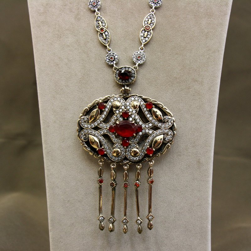 DRN44 - AUTHENTIC SILVER NECKLACE