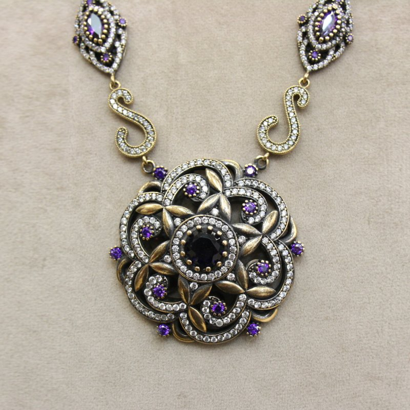 DRN46 - AUTHENTIC SILVER NECKLACE