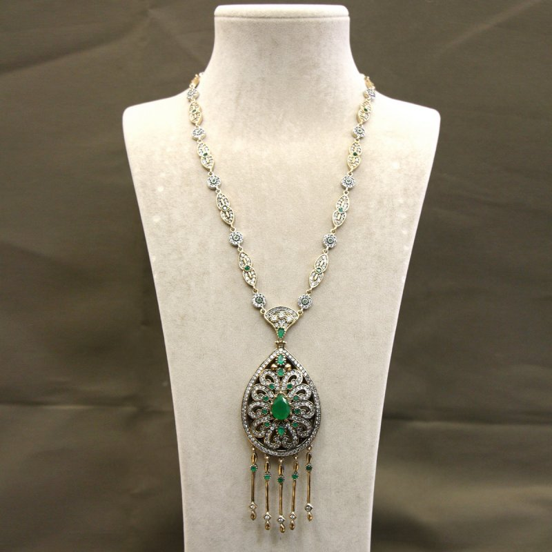 DRN40 - AUTHENTIC SILVER NECKLACE