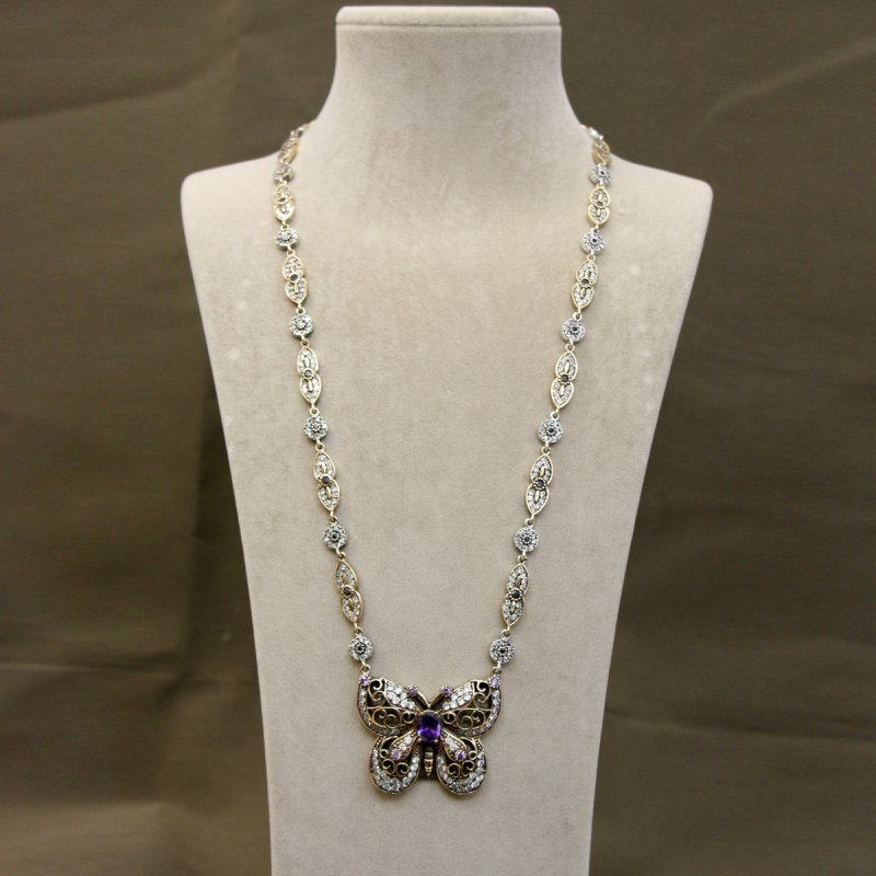 DRN42 - AUTHENTIC SILVER NECKLACE