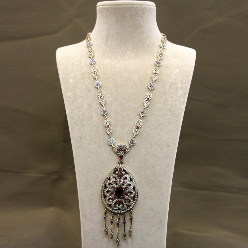 DRN43 - AUTHENTIC SILVER NECKLACE