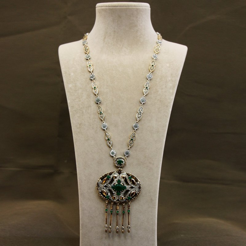 DRN45 - AUTHENTIC SILVER NECKLACE