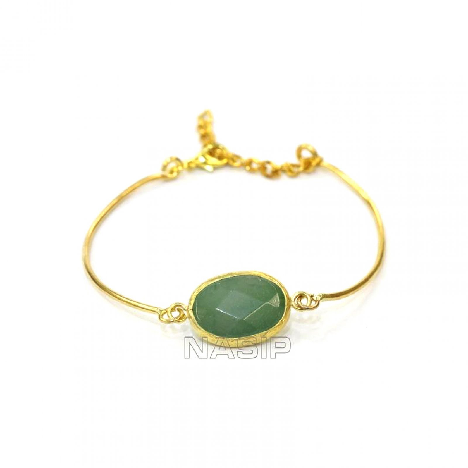 GB552 - GOLD PLATED HANDMADE BRACELET