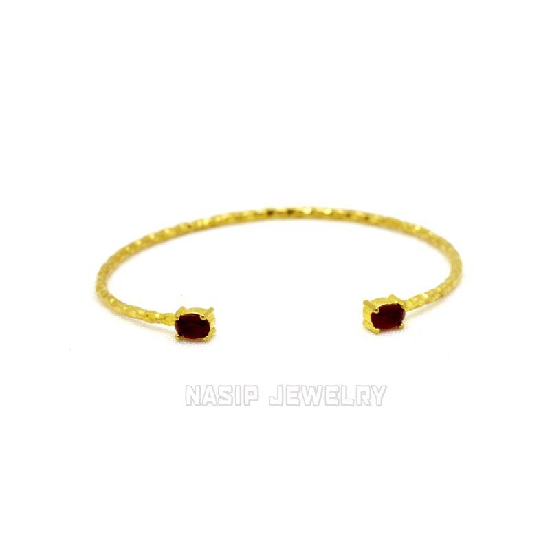 GB561 - GOLD PLATED HANDMADE BRACELET