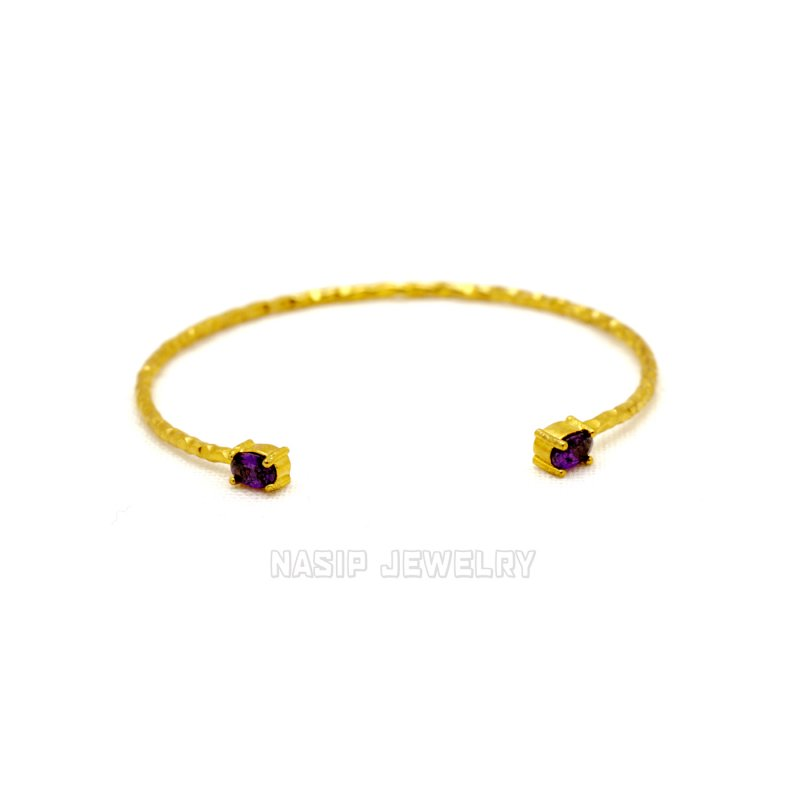 GB564 - GOLD PLATED HANDMADE BRACELET