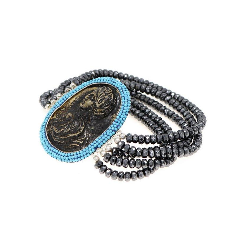 GB567 - ROMAN COIN BRACELET