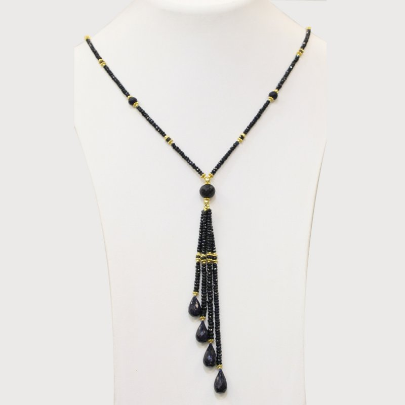 Natural Stone Sapphire Necklace