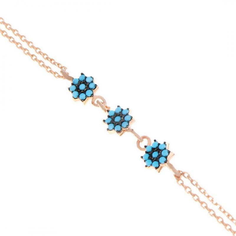 Flower Silver Bracelet