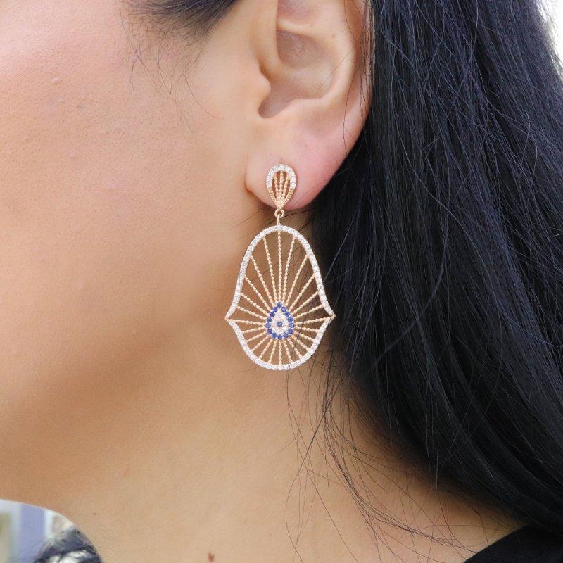 Sunshine Silver Earring