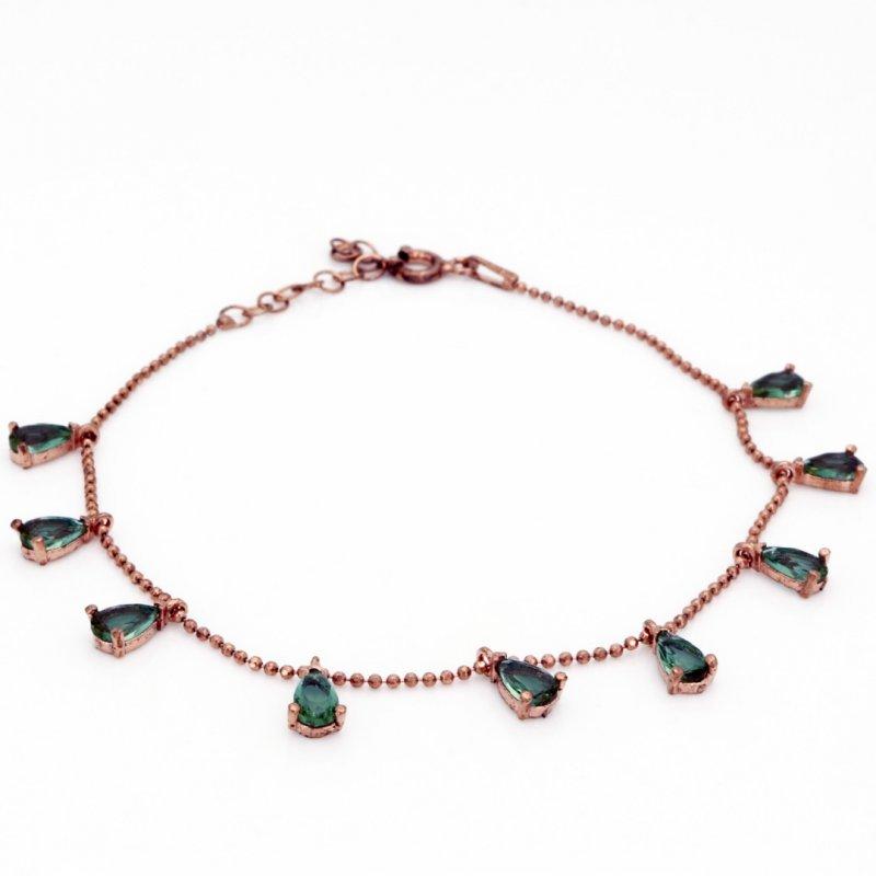 Multi Drop Zultanite Silver Bracelet