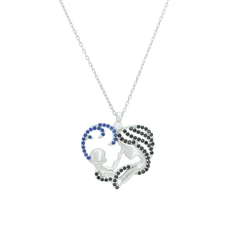 Baby Love Silver Necklace