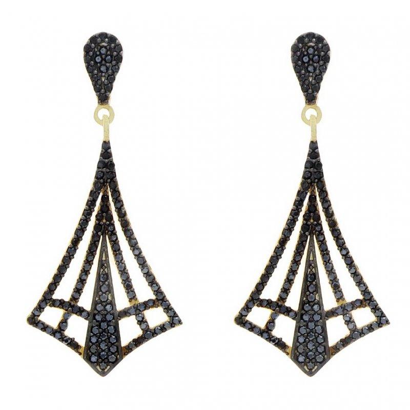 Drop Dangle Silver Earring
