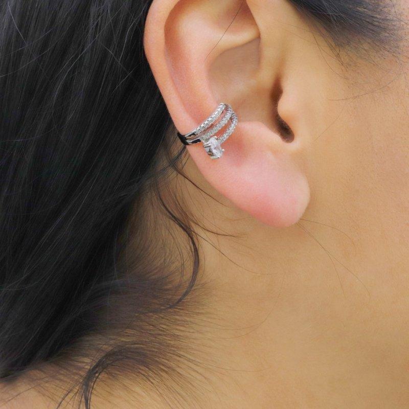 Earcuff Silver Earring