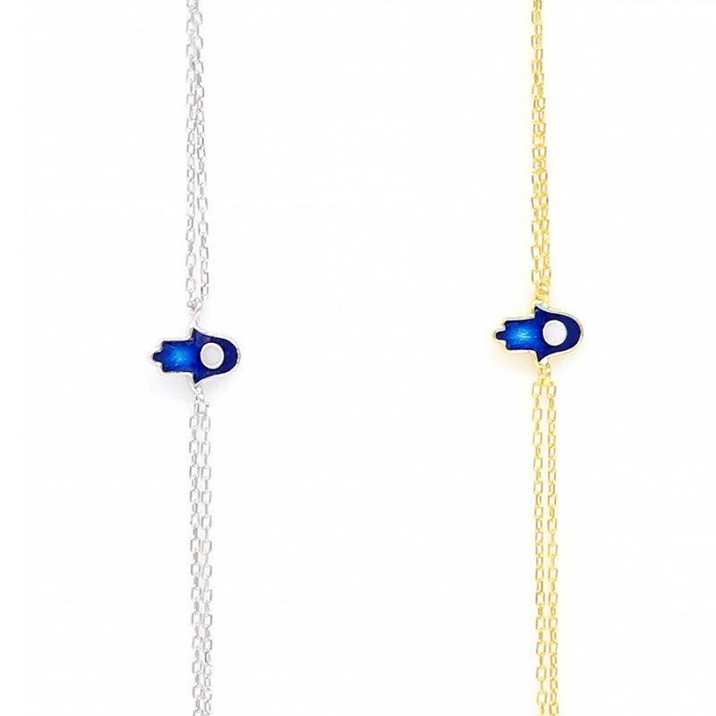 Enamel Silver Bracelet